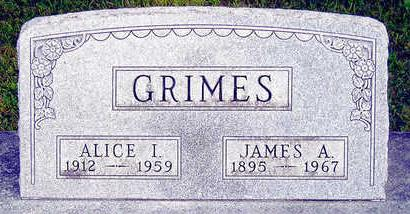 GRIMES, ALICE I. - Madison County, Iowa | ALICE I. GRIMES