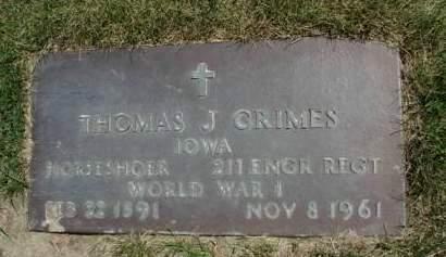 GRIMES, THOMAS JEFFERSON - Madison County, Iowa | THOMAS JEFFERSON GRIMES