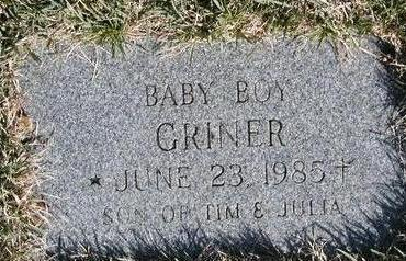 GRINER, BABY BOY - Madison County, Iowa | BABY BOY GRINER