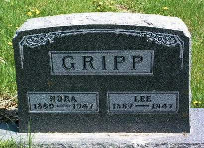 GRIPP, ELNORA MARTHA - Madison County, Iowa | ELNORA MARTHA GRIPP