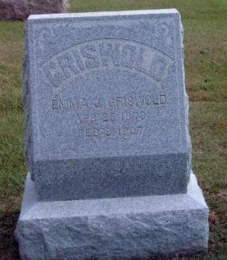 GRISWOLD, EMMA J. - Madison County, Iowa   EMMA J. GRISWOLD