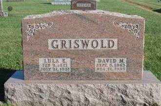 GRISWOLD, DAVID MONTAIGNE - Madison County, Iowa | DAVID MONTAIGNE GRISWOLD