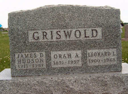 WHITWORTH GRISWOLD, ORAH A - Madison County, Iowa | ORAH A WHITWORTH GRISWOLD