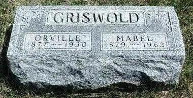 GRISWOLD, ORVILLE - Madison County, Iowa | ORVILLE GRISWOLD