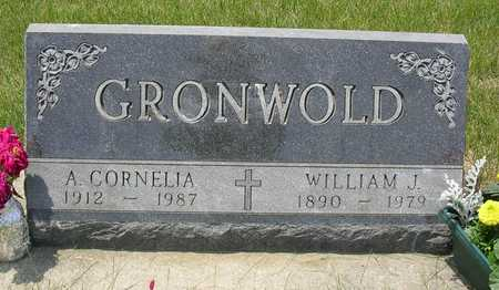 HUFF GRONWOLD, ADDIE CORNELIA - Madison County, Iowa | ADDIE CORNELIA HUFF GRONWOLD
