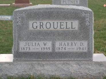 WILHELM GROUELL, JULIA W. - Madison County, Iowa | JULIA W. WILHELM GROUELL