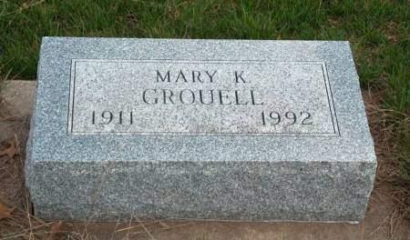 GROUELL, MARY KATHERINE - Madison County, Iowa | MARY KATHERINE GROUELL
