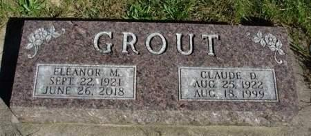 SAUER GROUT, ELEANOR M. - Madison County, Iowa | ELEANOR M. SAUER GROUT