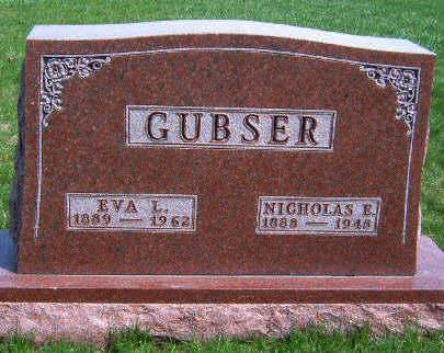 GUBSER, EVA L. - Madison County, Iowa | EVA L. GUBSER