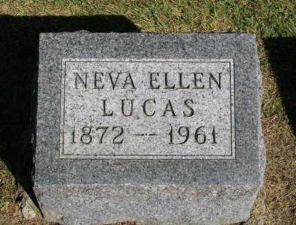 GUIBERSON LUCAS, NEVA ELLEN - Madison County, Iowa | NEVA ELLEN GUIBERSON LUCAS
