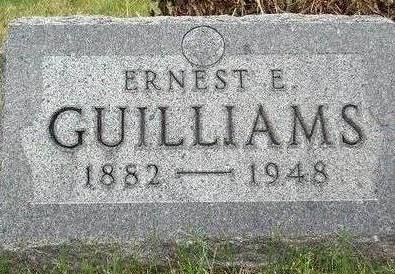GUILLIAMS, ERNEST E. - Madison County, Iowa | ERNEST E. GUILLIAMS