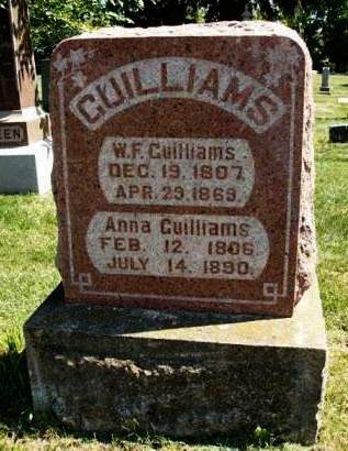 BURKETT GUILLIAMS, ANNA - Madison County, Iowa | ANNA BURKETT GUILLIAMS