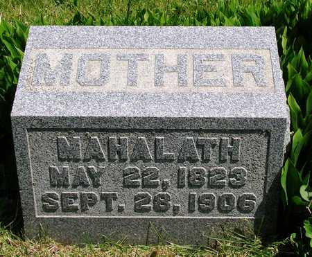 SNYDER GUTSHALL, MAHALATH - Madison County, Iowa | MAHALATH SNYDER GUTSHALL