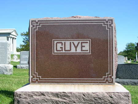 GUYE, FAMILY STONE - Madison County, Iowa | FAMILY STONE GUYE