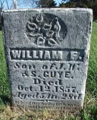 GUYE, WILLIAM F. - Madison County, Iowa   WILLIAM F. GUYE