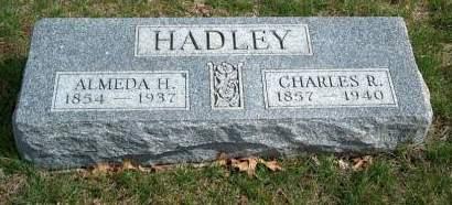 HOBSON HADLEY, ALMEDA RACHEL - Madison County, Iowa | ALMEDA RACHEL HOBSON HADLEY