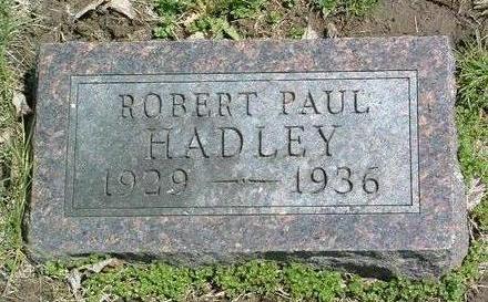 HADLEY, ROBERT PAUL - Madison County, Iowa | ROBERT PAUL HADLEY