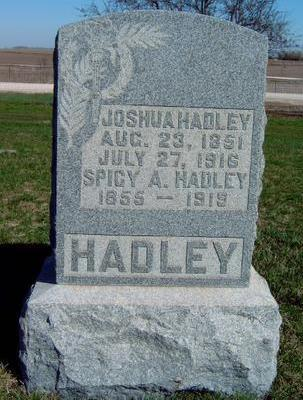 HADLEY, JOSHUA - Madison County, Iowa | JOSHUA HADLEY