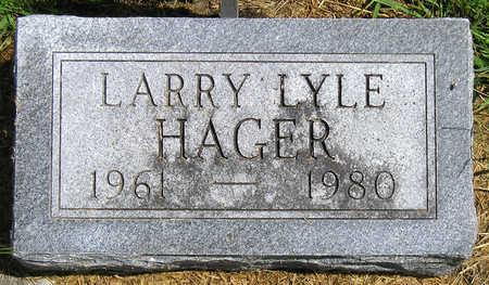 HAGER, LARRY LYLE - Madison County, Iowa | LARRY LYLE HAGER