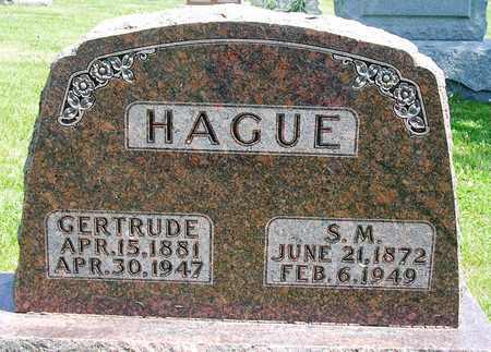 HAGUE, GERTRUDE G. - Madison County, Iowa | GERTRUDE G. HAGUE