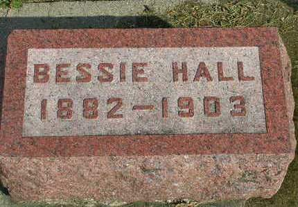 HALL, BESSIE - Madison County, Iowa | BESSIE HALL
