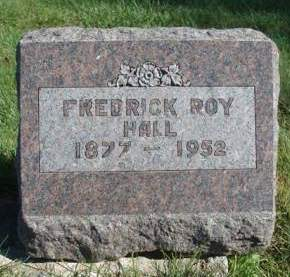 HALL, FREDRICK ROY - Madison County, Iowa | FREDRICK ROY HALL