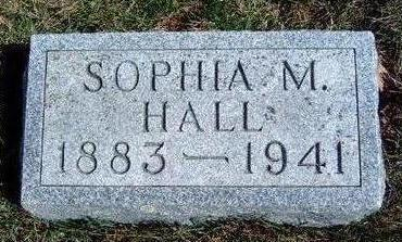 MALLETT HALL, SOPHIA M - Madison County, Iowa | SOPHIA M MALLETT HALL