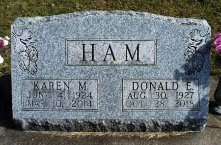 HAM, DONALD E. - Madison County, Iowa | DONALD E. HAM