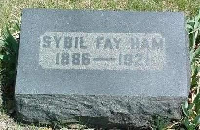 ADAMS HAM, SYBIL FAYE - Madison County, Iowa | SYBIL FAYE ADAMS HAM