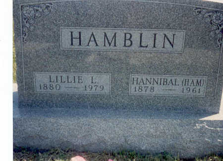 HAMBLIN, HANNIBAL FRANCIS (HAM) - Madison County, Iowa | HANNIBAL FRANCIS (HAM) HAMBLIN