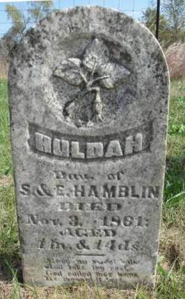 HAMBLIN, HULDAH - Madison County, Iowa | HULDAH HAMBLIN