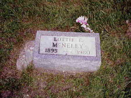 HAMBLIN MC NELEY, CHARLOTTE EVELYN  (LOTTIE) - Madison County, Iowa | CHARLOTTE EVELYN  (LOTTIE) HAMBLIN MC NELEY