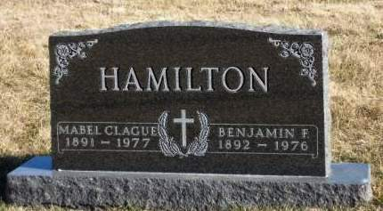 CLAGUE HAMILTON, MABEL - Madison County, Iowa | MABEL CLAGUE HAMILTON
