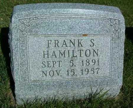 HAMILTON, FRANK S. - Madison County, Iowa | FRANK S. HAMILTON