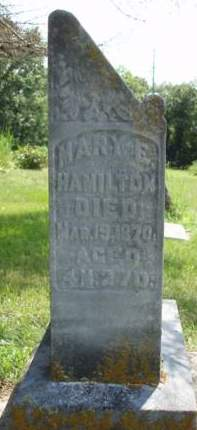 HAMILTON, MARY E. - Madison County, Iowa | MARY E. HAMILTON
