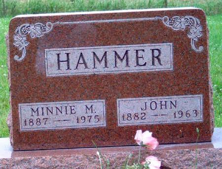 ADAMS HAMMER, MINNIE MAUDE - Madison County, Iowa | MINNIE MAUDE ADAMS HAMMER