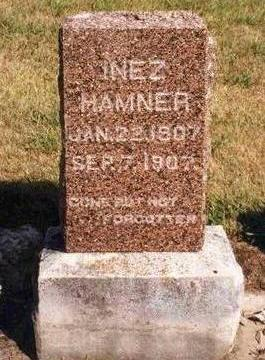 HAMNER, INEZ - Madison County, Iowa | INEZ HAMNER