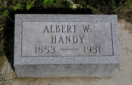 HANDY, ALBERT WILLIAM - Madison County, Iowa | ALBERT WILLIAM HANDY