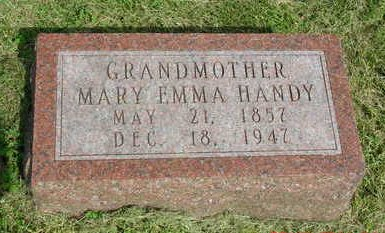 HANDY, MARY EMMA - Madison County, Iowa | MARY EMMA HANDY