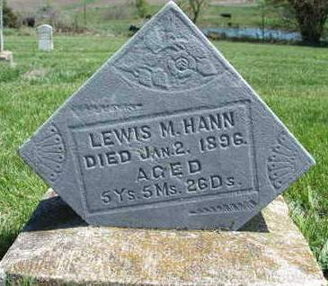 HANN, LEWIS M. - Madison County, Iowa | LEWIS M. HANN