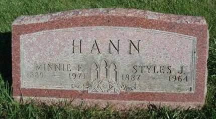 HANN, STYLES JAMES - Madison County, Iowa | STYLES JAMES HANN