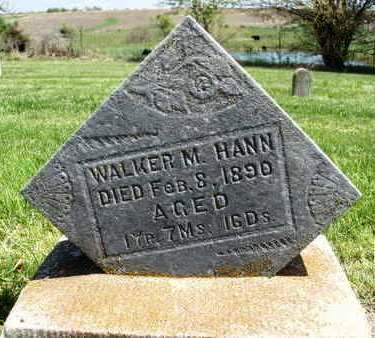 HANN, WALKER M. - Madison County, Iowa | WALKER M. HANN