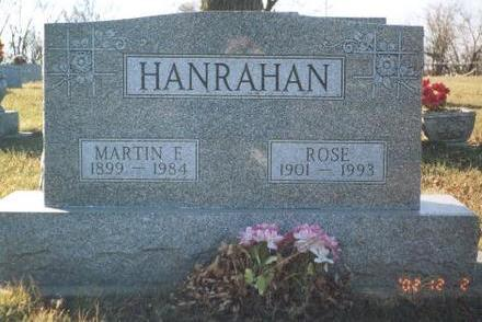 HANRAHAN, ROSE M. - Madison County, Iowa | ROSE M. HANRAHAN