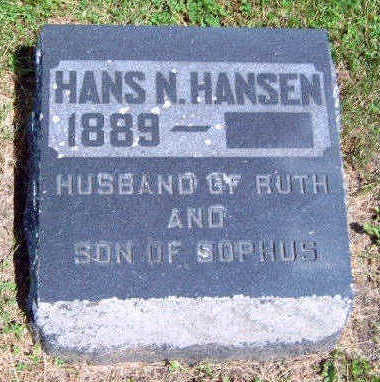 HANSEN, HANS N. - Madison County, Iowa | HANS N. HANSEN