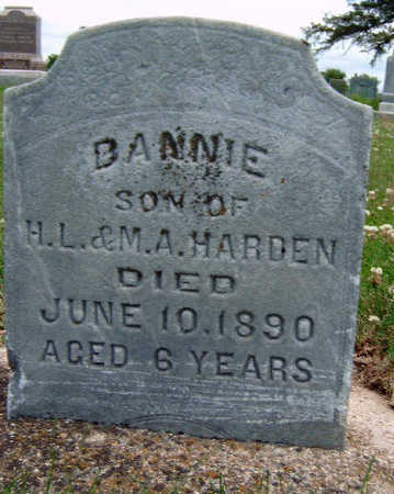 HARDEN, DANNIE - Madison County, Iowa | DANNIE HARDEN