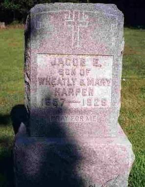HARPER, JACOB ENOCH (JAKE) - Madison County, Iowa | JACOB ENOCH (JAKE) HARPER
