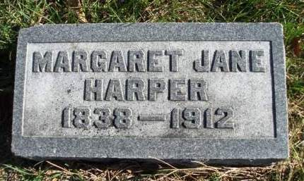 HARPER, MARGARET JANE - Madison County, Iowa | MARGARET JANE HARPER
