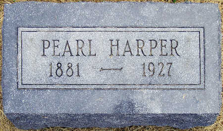 POWELL HARPER, PEARL REBECCA - Madison County, Iowa | PEARL REBECCA POWELL HARPER