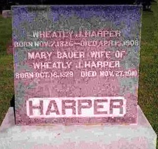 BAUER HARPER, ANNA MARY - Madison County, Iowa | ANNA MARY BAUER HARPER