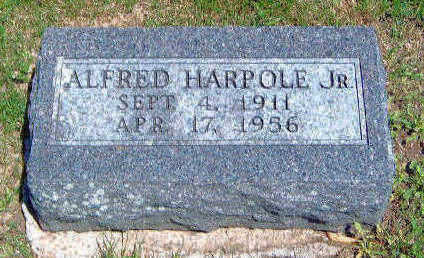 HARPOLE, AFLRED ALPHONSO, JR. - Madison County, Iowa | AFLRED ALPHONSO, JR. HARPOLE